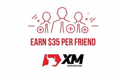 Programa XM Indique um Amigo - Até $ 35 por Amigo