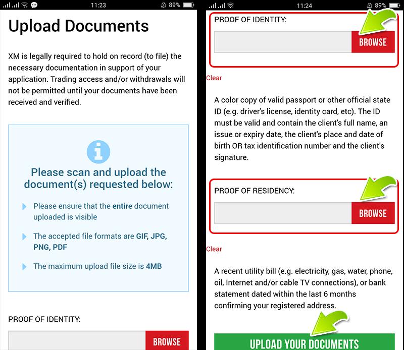 How to Verify XM account
